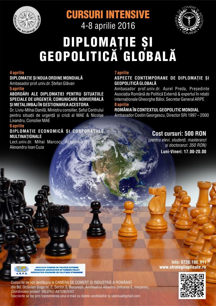 diplomatie si geopolitica globala